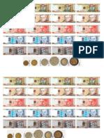 Problemas Con Billetes y Monedas