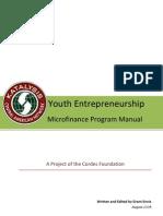 Youth Entrepreneurship Microfinance Program Manual