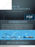 07. SUCURSAL DE SOCIEDAD EXTRANJERA