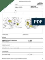 Mantenimiento de la transmisión manual _ Autodata