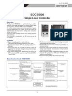 Temp.Controller SDC35-36 Specification Manual