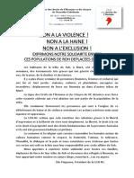 CP LDH-NC Violences à Roh