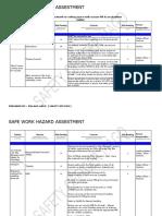 safe work procedure on ducting