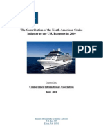 The Contribution of the North American Cruise  Industry to the U.S. Economy in 2009