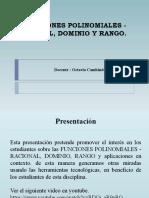 Funciones polinomiales, Racionales (5)