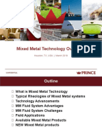 Mixed Metal Technology Overview With New Products (March 2018)