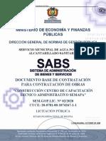 DBC.constr. centro capac. tec-adm-SEMAPA-UPB