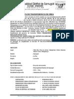 proyecto Acta de Transferencia UGEL La Mar. saMUGARI