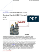 Download AutoCAD 2011 Portu...