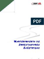 Manual Mantenimiento de subestaciones