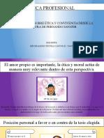 PRESENTACIÓN SOBRE ÉTICA Y CONVIVENCIA DESDE LA POSTURA DE FERNANDO SAVATER