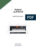 Juno-G Micro Manual Eng