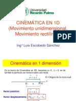 Cinemática en 1D