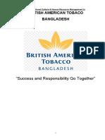 Paper on British American Tobacco Bangladesh
