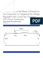 3002002245_A Case Study on the Effects of Distribution Line Capacitors on Substation Bus Voltage Regulated with a Load Tap Changing _LTC_ Power Transformer Southern Company Smart Grid Demonstration