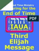 Third Elijah Message