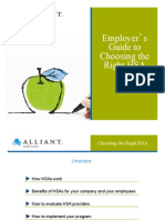 Employer's Guide to Choosing the Right HSA