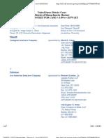 LEXINGTON INSURANCE COMPANY v. ACE AMERICAN INSURANCE COMPANY Docket
