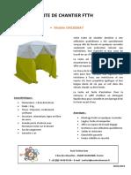 TENTES DE CHANTIER FTTH A7 - A9