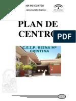 Plan de Centro Reina Maria Cristina Curso 19-20 (Modificación 13-11-20)
