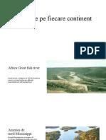 Fluvii de pe fiecare continent geografie (2)
