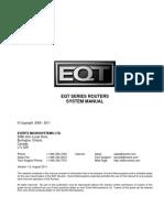 EQT Router Manual 1v5