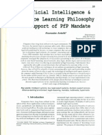 Antoliš, Krunoslav - Artificial intelligence and distance learning philosophy in support PfP mandate, 2003