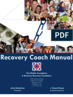 Recovery Coach Manual - 2010