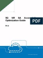 5G NR SA Accessibility Optimization Guide_R1.0_20190404