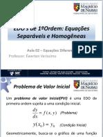 Aula 02 - Equações Diferenciais de 1ª Ordem.pdf