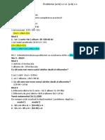 Probleme de tipul (a+b)x c si (a-b) x c