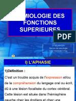 7 Sémiologie des fonctions supérieurs – Pr Belahsen