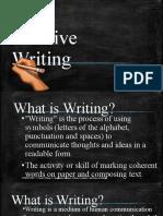 CT1 (1.1 Imaginative Writing vs Technical Writing)