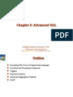 Databases chapter 5 presentation