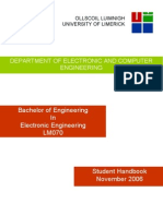 LM070 Student Handbook November 2006