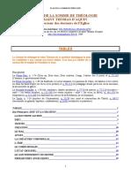 01 - Plan de la Somme théologique