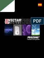 Ficha Tecnica PROZONE generador de ozono