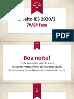 Aula 06 - Proteção Penal aos Interesses Sociais