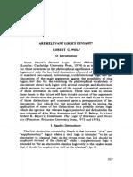 Wolf, 1977 - Are relevant logics deviants?.pdf