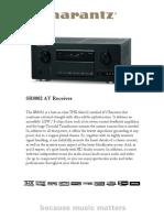 SR8002 - AV Receiver
