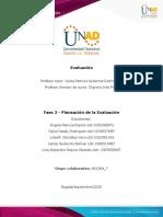 Trabajo evaluación, compilación de aportes123