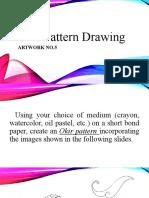 Okir Pattern Drawing