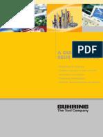Guhring - Catálogo de Produtos 2009