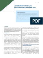 Fiscalización Tributaria en una plataforma digital