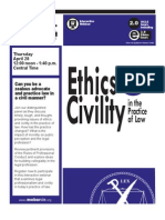 MoBarCLE Ethics & Civility