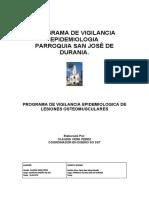 PROGRAMA DE VIGILANCIA EPIDEMIOLOGICA RIESGO ERGONOMICO.