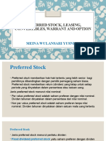 HYBRID FINANCING ; Prefered Stocks, Leasing dan Option Securities(1).pptx