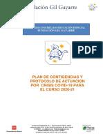 Plan de Contingencia  2020 - 21