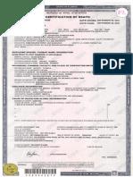Cody Tuomala Death Certification
