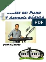Clases de Piano y Armonia Basica